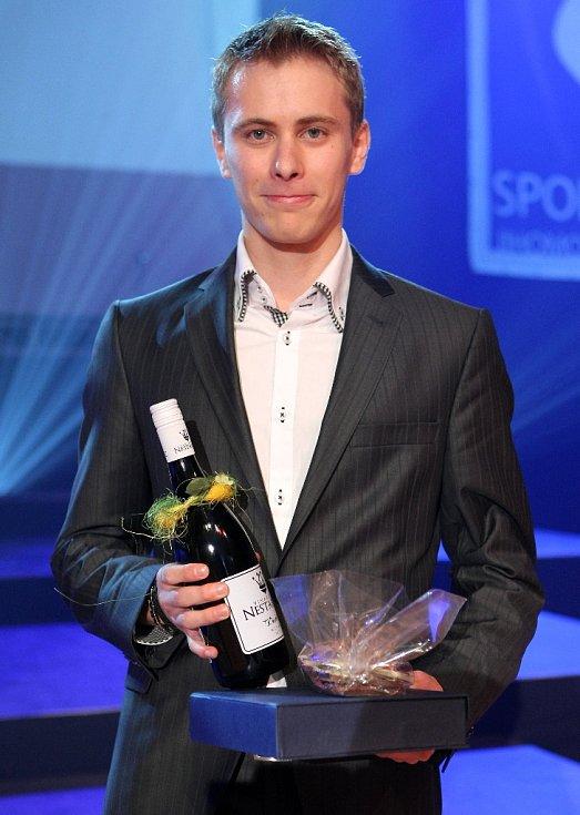 Sportovcem roku na jižní Moravě se stal krasobruslař Michal Březina.