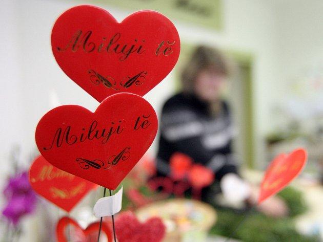I v brněnských ulicích jde vidět, že se Valentýn blíží.