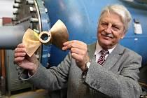 Vírovou turbínu sestrojil tým Františka Pochylého z brněnské VUT.