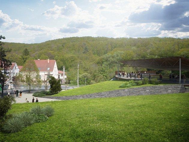 Současné okoli brněnské zoo.
