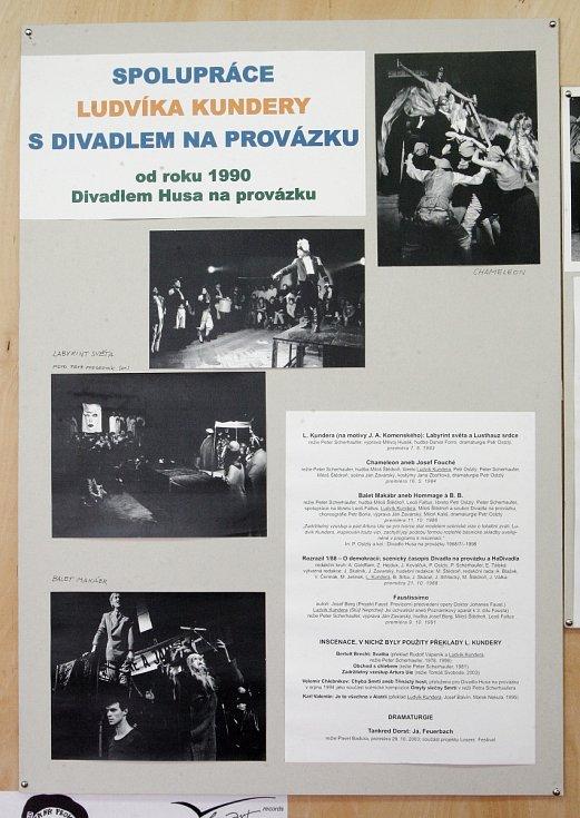 Netradiční výstava o životě a díle Ludvíka Kundery, zakládajícího člena Skupiny Ra a Sdružení Q.