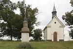Poutní kaple Panny Marie Pomocnice v Líšni.