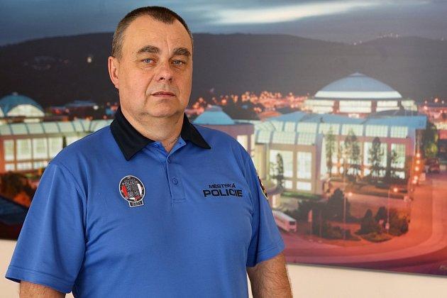 Rozhovor na konci týdne sředitelem Městské policie Brno Lubošem Oprchalem.