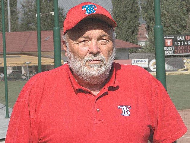 Předseda a zakladatel baseballového klubu Technika Brno Rudolf Drnec.