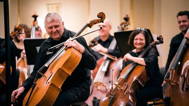 Koncert vysílá Filharmonie Brno v pátek od sedmi hodin večer na svém webu a Facebooku.
