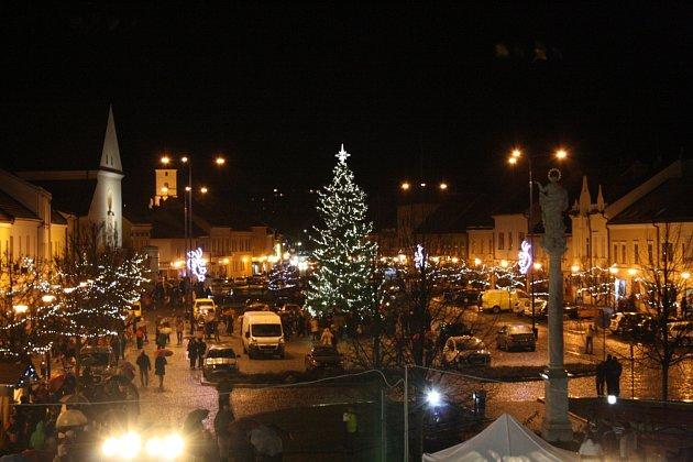 Kyjov, Masarykovo náměstí.
