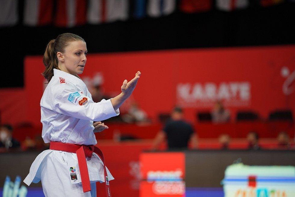 Karatistka Veronika Mišková vybojovala v Chorvatsku evropský bronz v disciplíně kata.