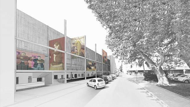 Vítězná vizualizace přestavby káznice na Cejlu