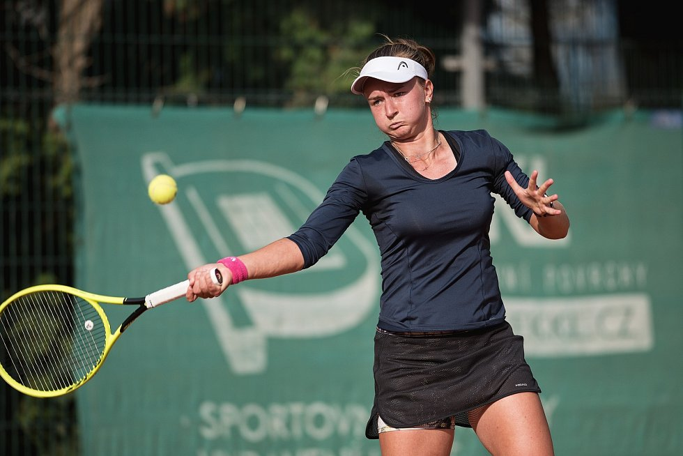Česká tenistka Barbora Krejčíková nyní prožívá raketový vzestup.