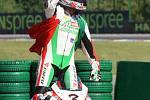Závod mistrovství světa superbiků v Brně.