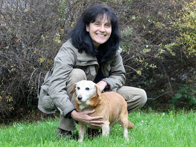 Józa byl ze všech psů v brněnském útulku úplně nejdéle, už má ale nový domov. Ve středu se ho ujala sedmapadesátiletá Gita Barcalová z Brna.