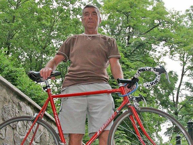Olympijský vítěz cyklista Jiří Daler