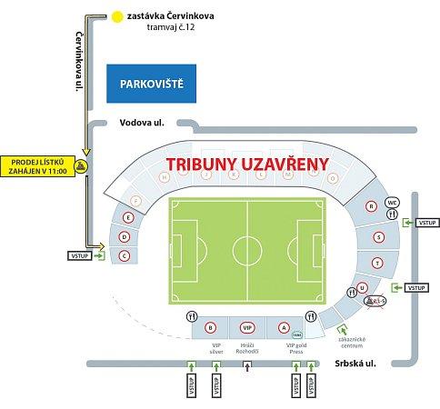Mapka stadionu.