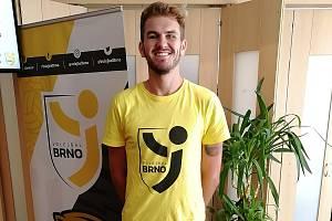 Americká posila Volejbalu Brno Matt August.