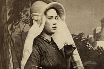 Ateliér Tessaro, Antverpy studie tradičního belgického oděvu, kolem roku 1870.