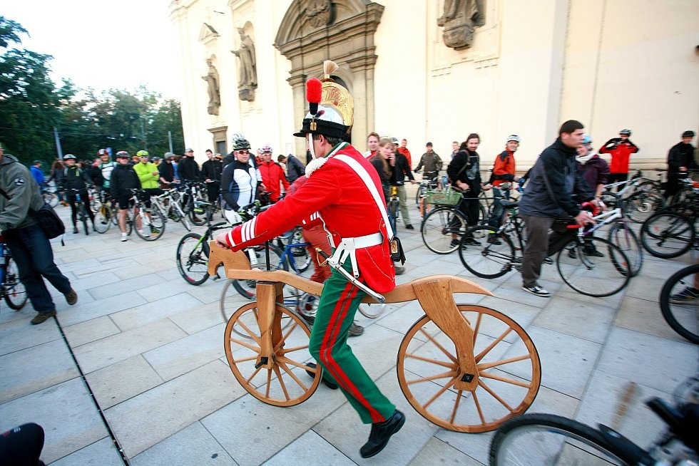 Akce Nakoleon se zúčastnila více než tisícovka cyklistů.