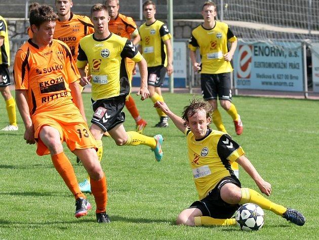 Fotbalisté Rosic porazili Zábřeh 3:1.