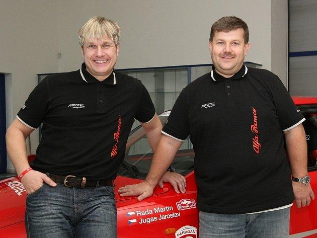 Martin Rada (vpravo) a Jaroslav Jugas.