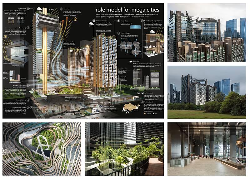 Komplex Marina One, Singapur.