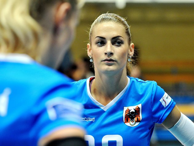 Volejbalistka Lucie Polášková.
