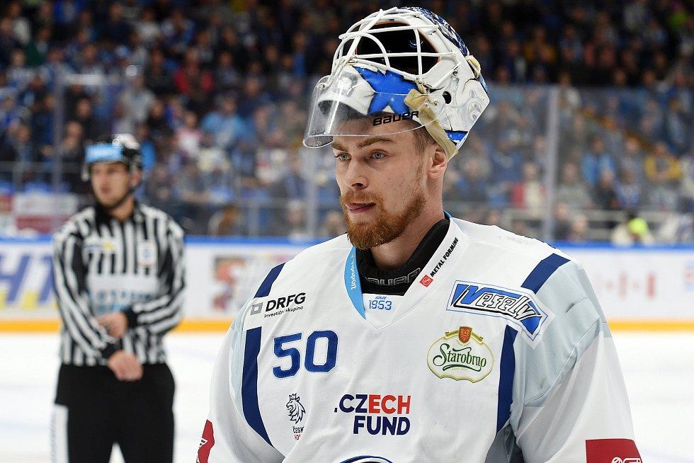 Brankář Karel Vejmelka si získal důvěru brněnského trenéra Libora Zábranského a do sezony půjde z pozice jedničky.