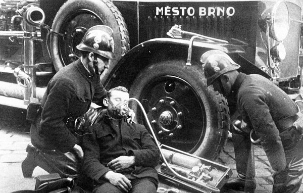 Brněnští hasiči už bojují spožáry 150let.