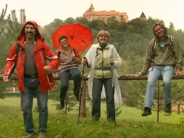 Záběr zvideoklipu Jihomoravského kraje. Ilustrační foto.