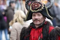 Vánoční atmosféra, spousta pohádkových bytostí a program na velkém nádvoří i na výstavě Hádám, hádám pohádku. Tak vypadal Špilberk v sobotu, kdy hrad v centru města ovládly Pohádkové Vánoce.