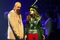 Muzikálový soubor Městského divadla Brno v pondělí poprvé na jevišti zkoušel nejnovější muzikál Prodaný smích.