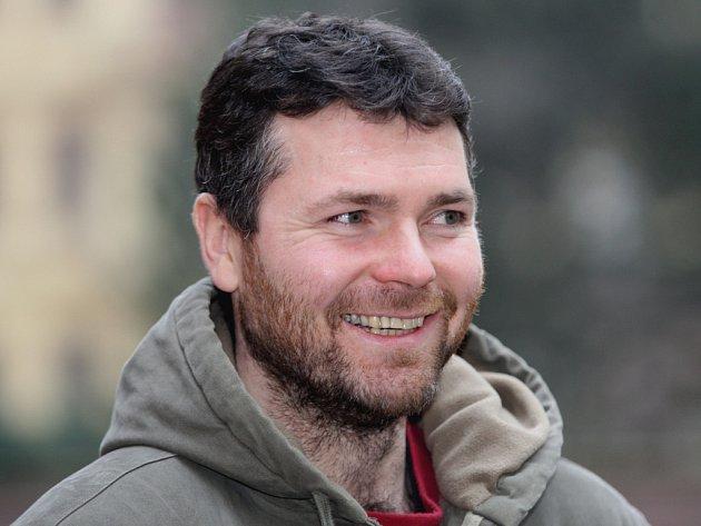 Hokejista brněnské Komety Peter Pucher.