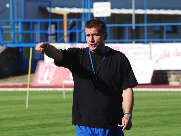 Fotbalový trenér Bohumil Smrček.
