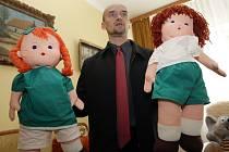Výslechová místnost pro děti v dětském domově.