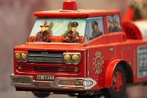 Výstava hraček v Měnínské bráně.