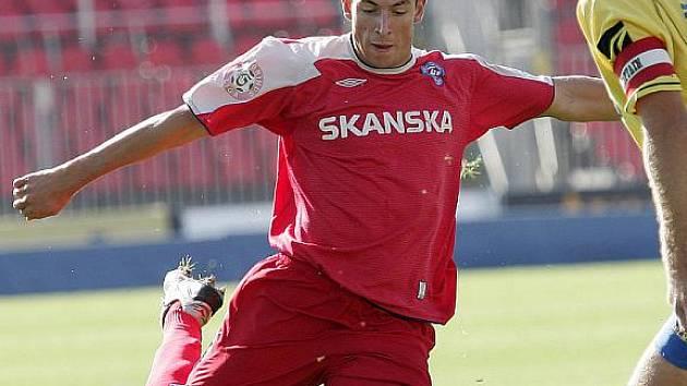 Fotbalista Aleš Pacák.