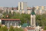 Pohled na husovický kostel v Brně.