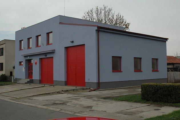 Opravená budova hasičské zbrojnice