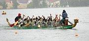 Dračí lodě na Olšovci.