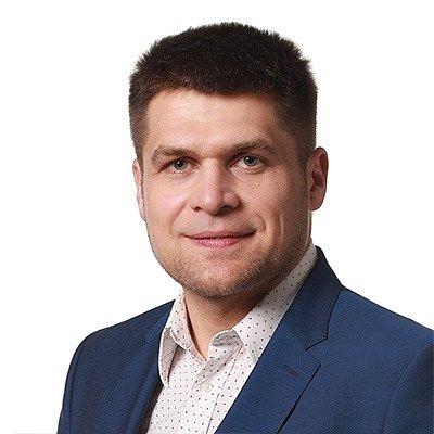 Lídr Strany zelených Michal Berg.