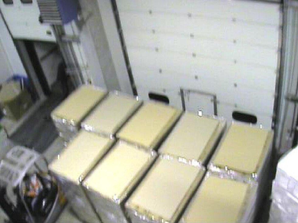 Policejní záběry z průmyslové kamery.