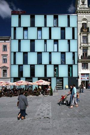 Obchodní dům Omega na náměstí Svobody, Brno