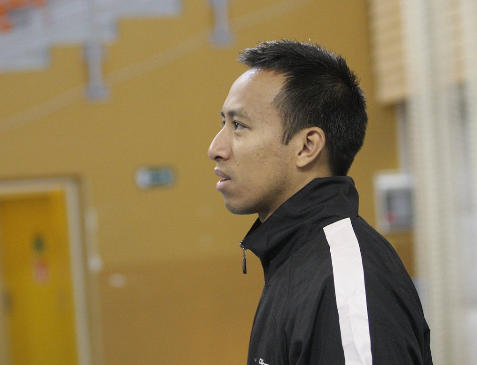 Badmintonista Dicky Palyama.