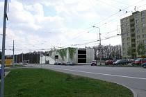 Vizualizace - parkovací dům Kohoutovice