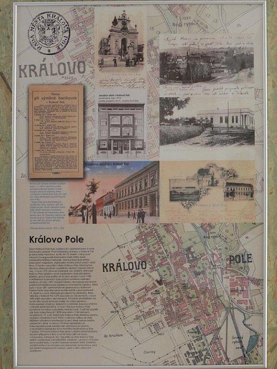 Výstava Velké Brno v Křížové chodbě Nové radnice.