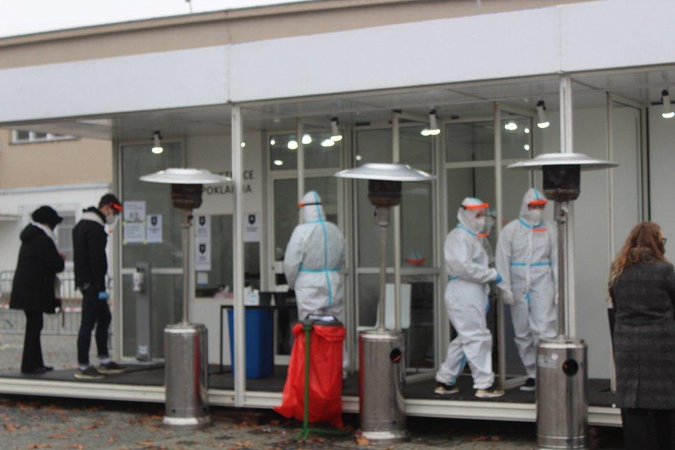 Testovací centrum na Výstavišti nově nabízí antigenové rychlotesty na covid.