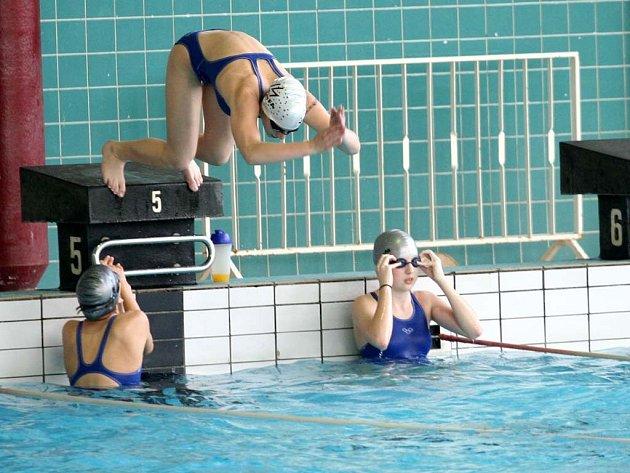 Bazén za Lužánkami.