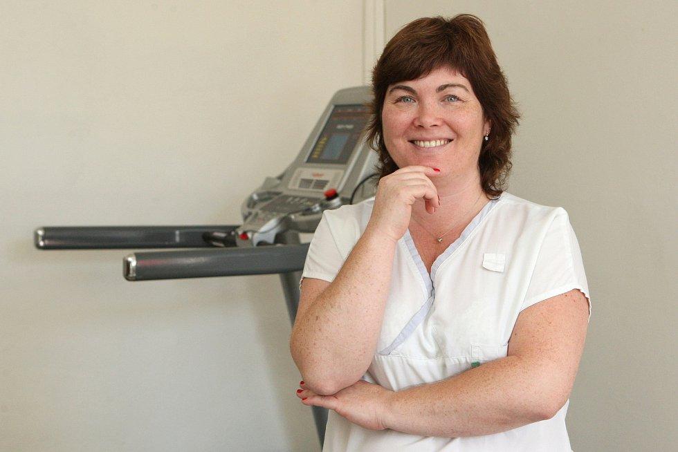 Fyzioterapeutka Pavlína Svobodová
