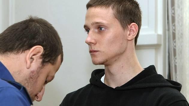 Eduard Kristek u soudu.