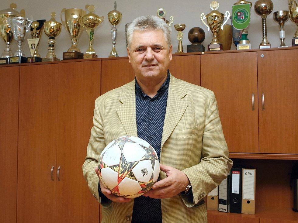 Předseda JmKFS Vladimír Kristýn.