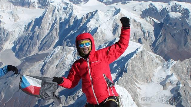 Horolezec Jan Polášek.