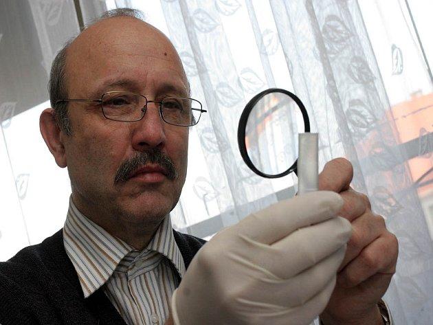 Kriminalista Vladimír Matoušek se podílel na ojasnění případu.